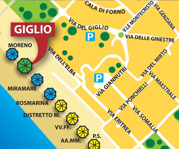 DOVE SIAMO | Bagno Giglio